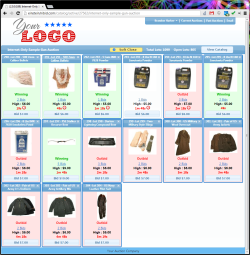 Live Catalog for Internet-Only Auctions