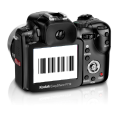 Camera taking picture of barcode